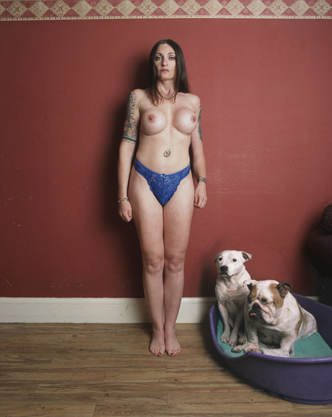 naked women with there pets