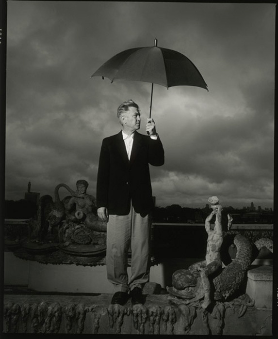 David Lynch brolly